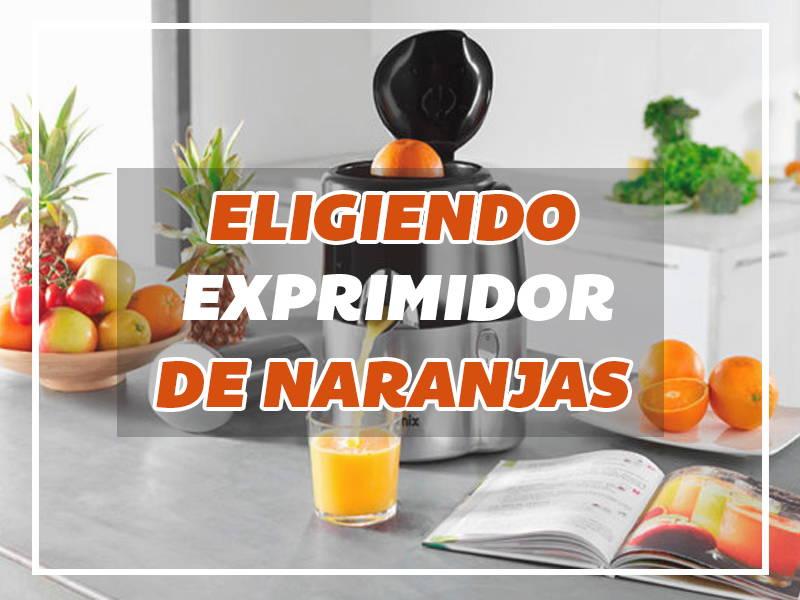 comprar exprimidor de naranjas