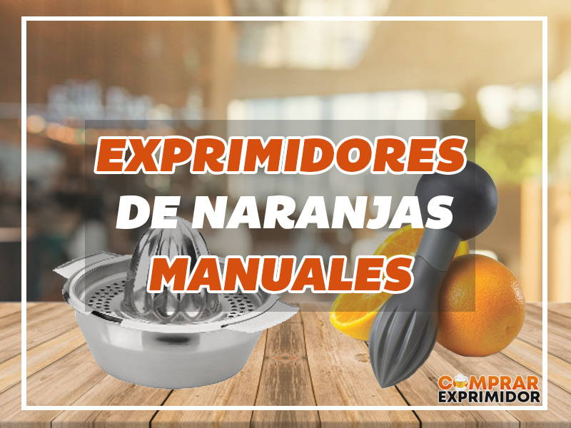 exprimidores manuales
